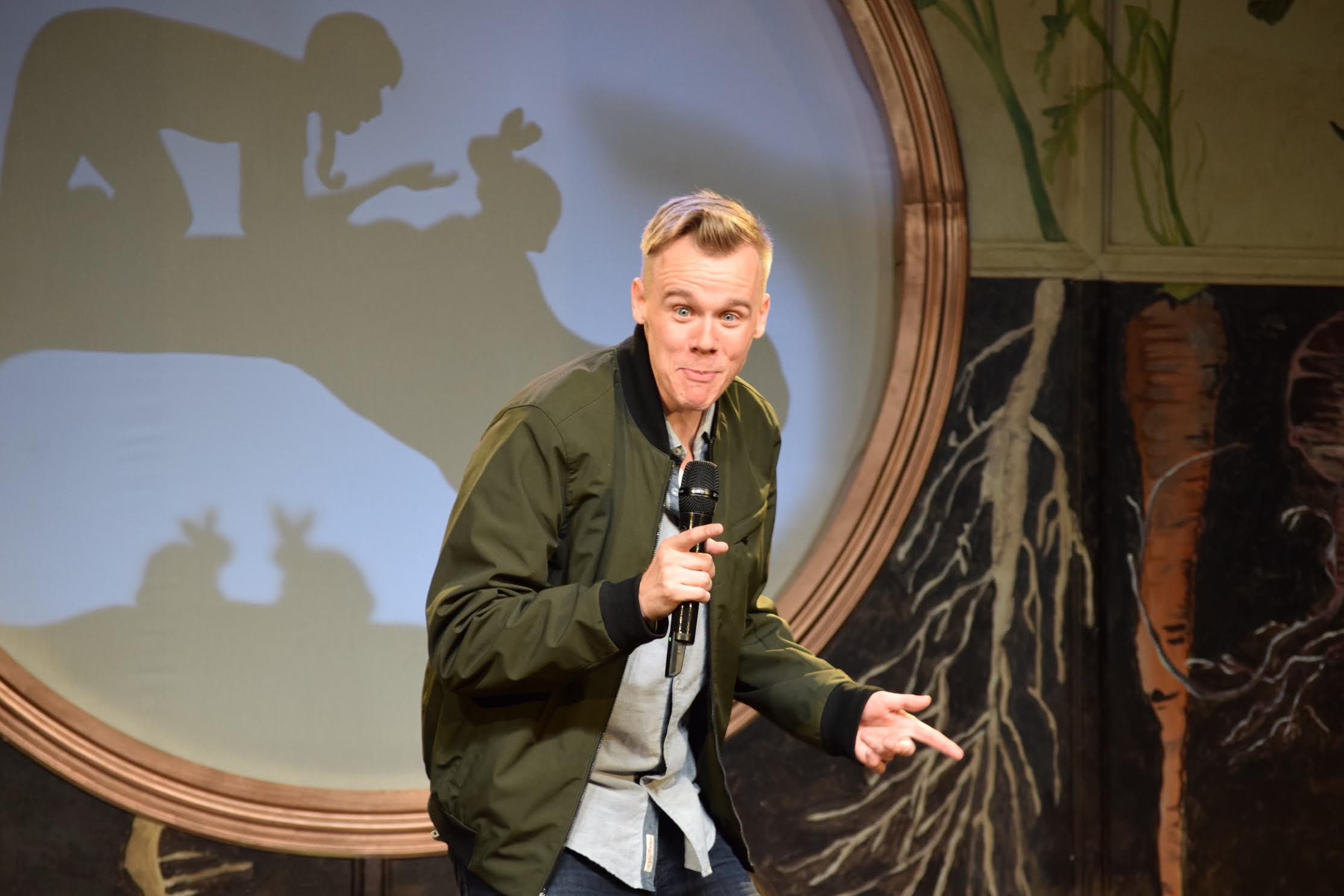 Comedian Andrew Rivers