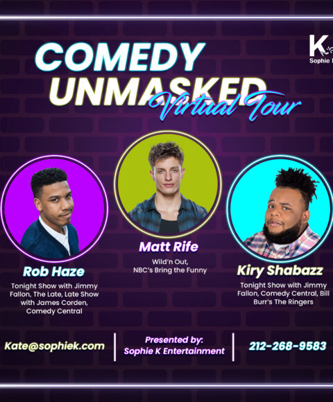 Comedy Unmasked – A virtual comedy show